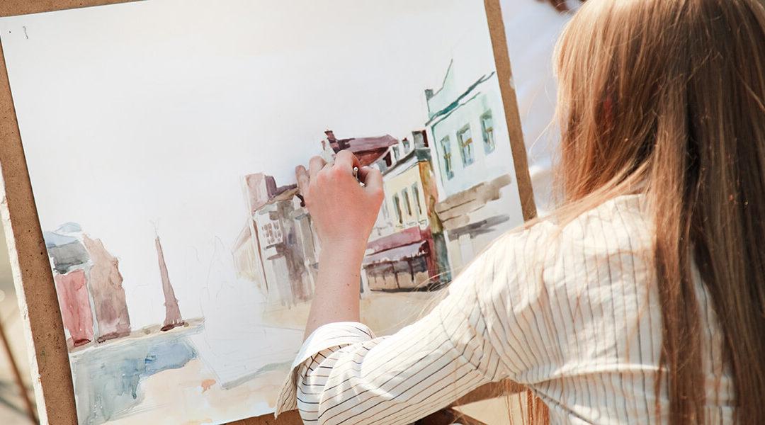 Πως να κρατήσεις το στούντιο ζωγραφικής σου τακτοποιημένο