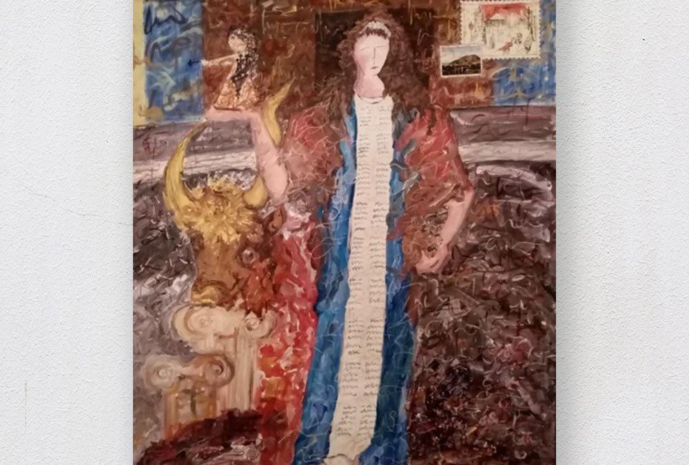 Αναβολή επ'αόριστον της ατομικής έκθεσης ζωγραφικής της εικαστικού Αφροδίτης Καραμανλή